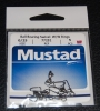 Mustad Ball Bearing Swivel Welded Rings and Cross Lock Snap - Size 0/25