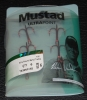 Mustad TR58NP-RB Red KVD Elite Round Bend Treble - Size 6