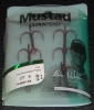Mustad TR58NP-RB Red KVD Elite Round Bend Treble - Size 2