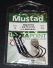 Mustad 38101W Weighted KVD Grip Pin - Size 5/0 - 1/16 oz