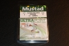 Mustad 102NP-RWCH White Chart Dressed Treble Hooks - Size 4