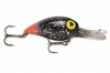 Storm Original Wiggle Wart - Black Glitter Fluorescent Red Tail