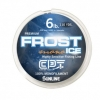 Clam Frost Ice Fishing Line Metered Orange/Clear - 6 LB Test