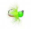VMC TFJ Tungsten Fly Jig - Green Orange Glow