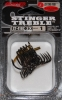 Owner Stinger 41 Treble Hooks Black Chrome - Size 1